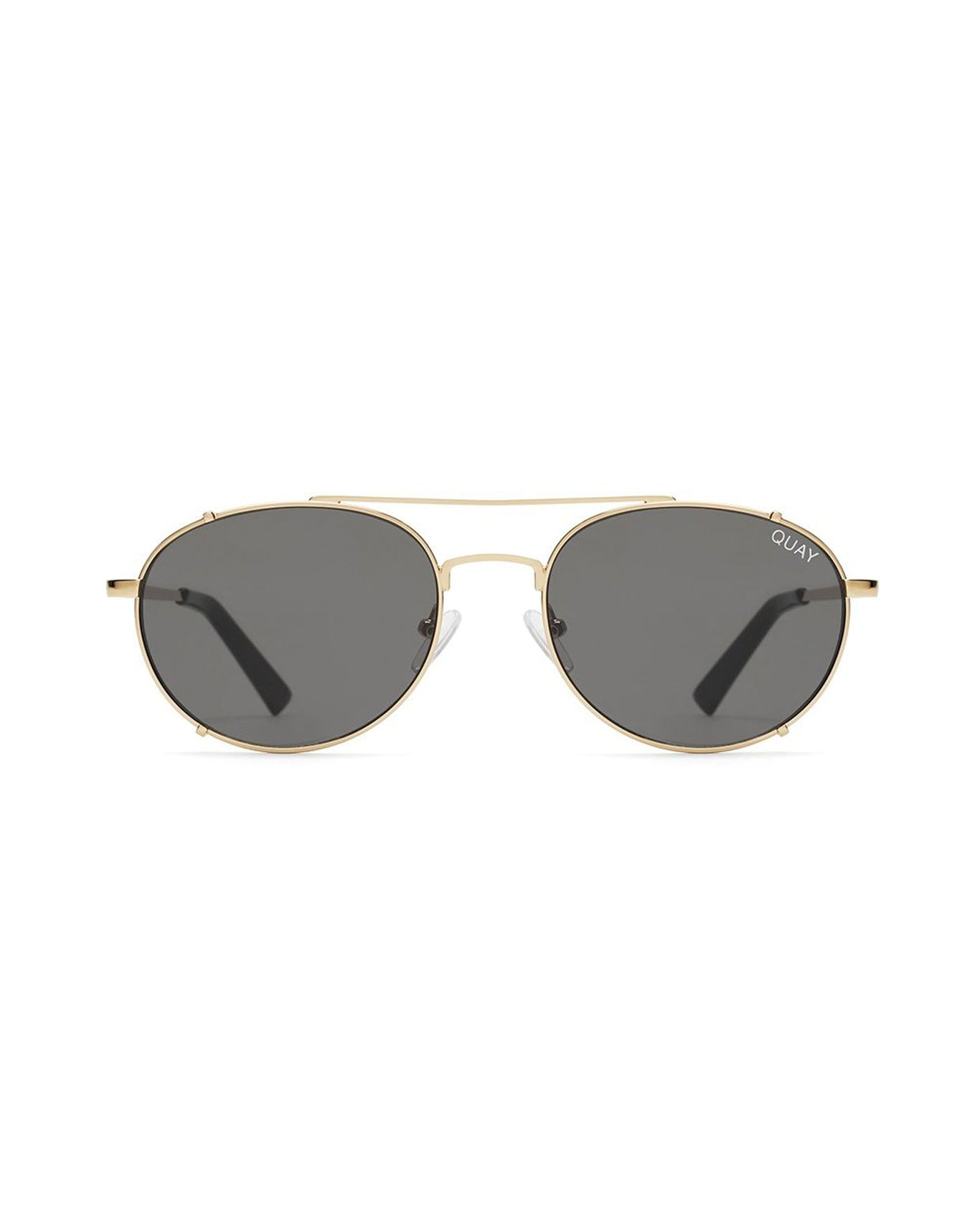 QUAY LITTLE J SUNNIES - GOLD/SMOKE