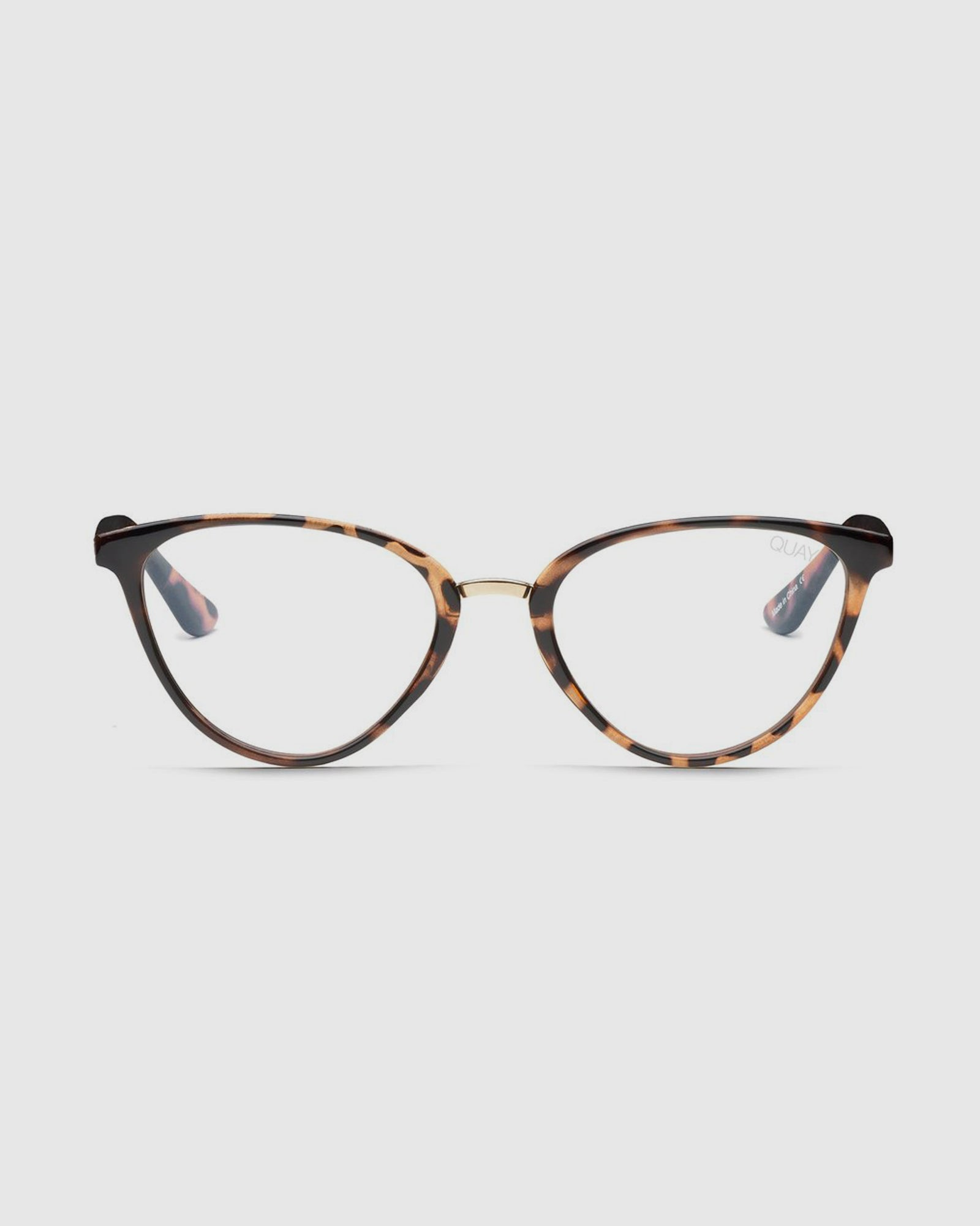 c7a59d7298 Quay Rumours Sunnies - Tort Clear Blue Light Lens – New Generation Clothing