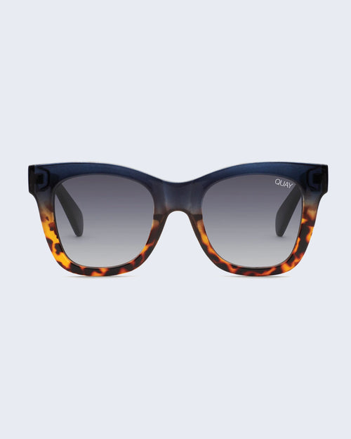 Quay After Hours Sunnies - Navy/Tort