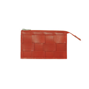 Näver Leather Wallet | Red