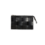 'Näver' Leather Wallet | Black