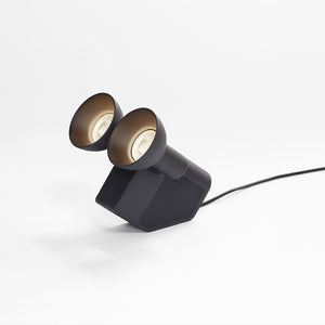 'Olo' Table Lamp | Charcoal