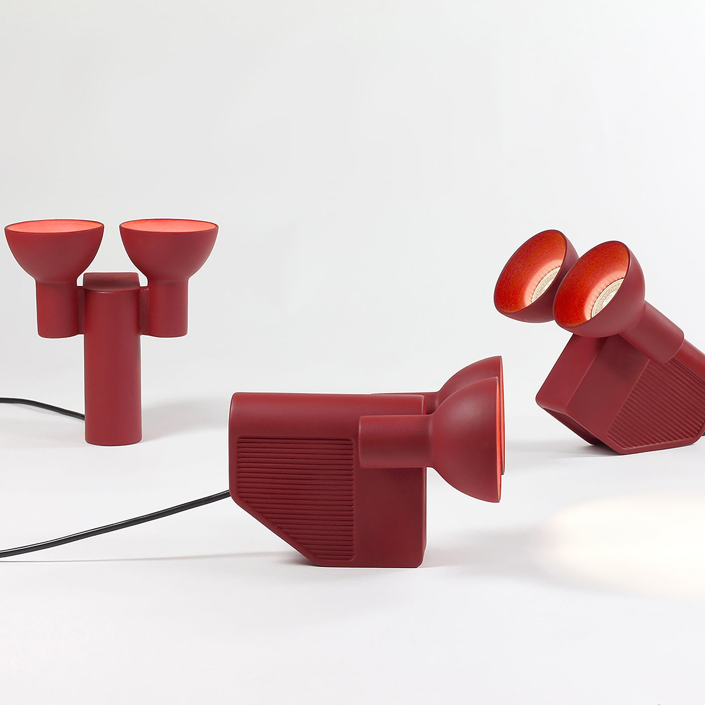 'Olo' Table Lamp | Red
