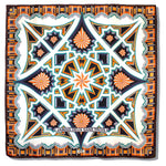 Silk Scarf | 90x90 | Orange