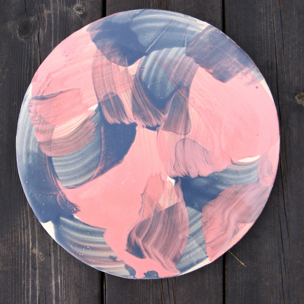 """8 feet"" Ceramic Plate 