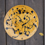 'Plapla' Ceramic Plate | Blue Splash