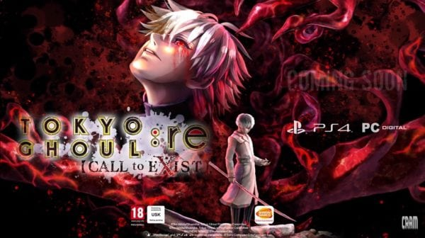 Tokyo Ghoul: re Call to Exist – Des informations sur sa sortie
