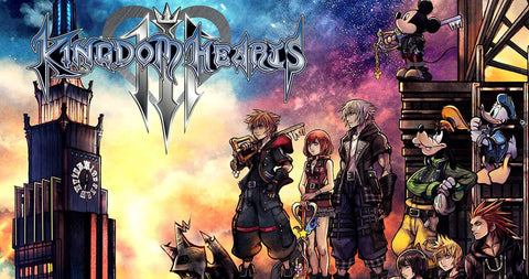 Kingdom Hearts 3 GEEKABRAK