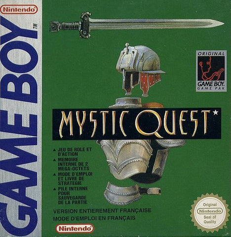 Mystic Quest Final Fantasy Adventure GEEKABRAK
