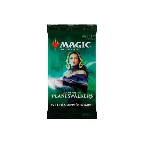 Booster La Guerre des Planeswalkers - Magic the Gathering