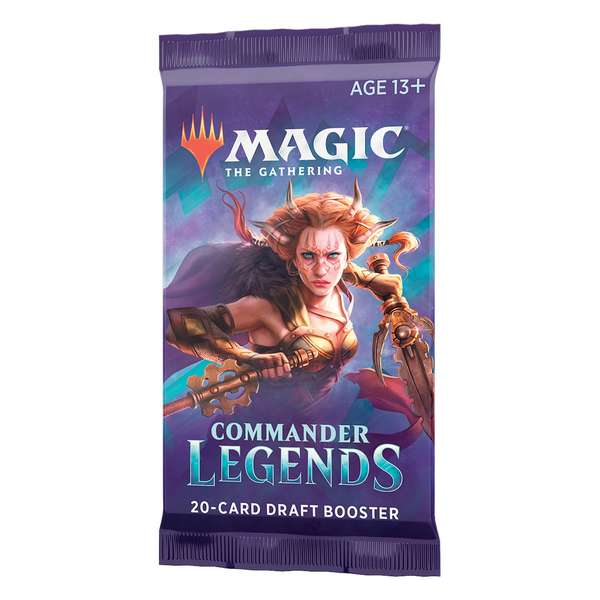 Booster Commander Legends - Magic The Gathering