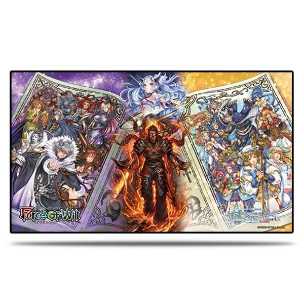 Playmat Echos du Nouveau Monde - Force of Will
