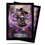 Sleeves Standard US - Dark Faria, Ombre Princesse d'Ébène - Force of Will