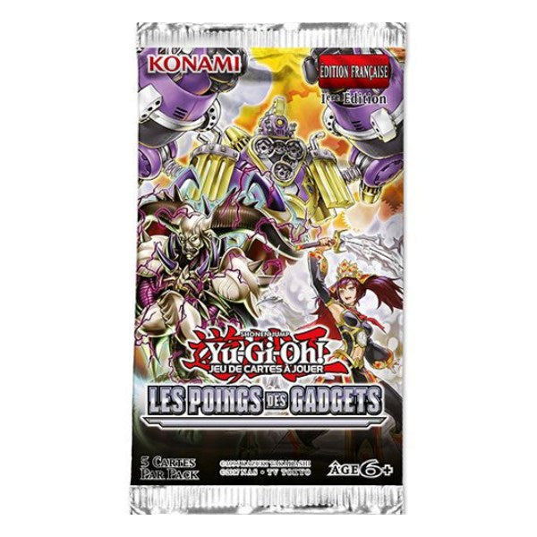 Booster Les Poings des Gadgets - Yu-Gi-Oh!