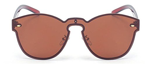 b68c351bd6 GAMT Reflective Rimless Sunglasses Fashion Vintage Eyewear for - Discount  Sporting Store