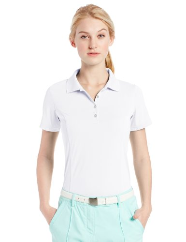 adidas Golf Women's Puremotion Solid Jersey Polo