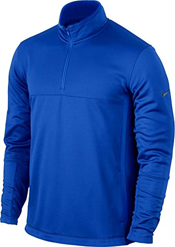 Nike Golf CLOSEOUT Men's Therma-FIT Cover-Up (Game Royal/Anthracite) 686085-480