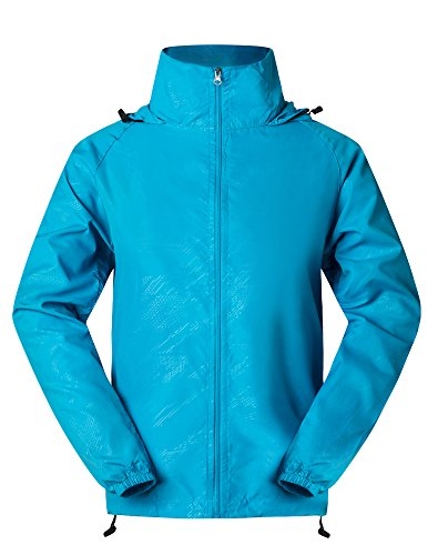 Cheering Men's Windbreaker Lightweight Jacket Super Quick Dry UV Protect