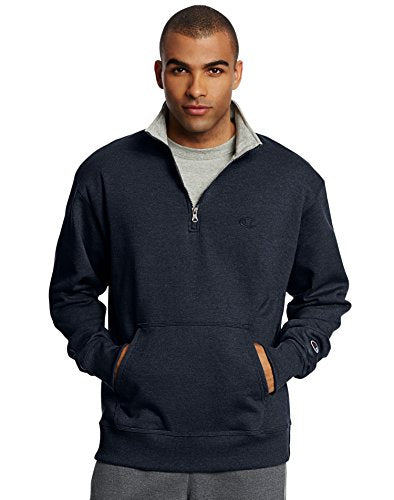 Champion Men's Powerblend Quarter-Zip Fleece