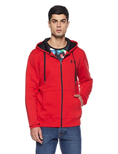 Under Armour Men's Rival Fleece Fitted Full Zip