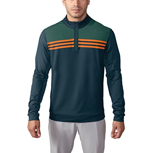 adidas Golf Men's Climacool Color Block 1/4 Zip Layering