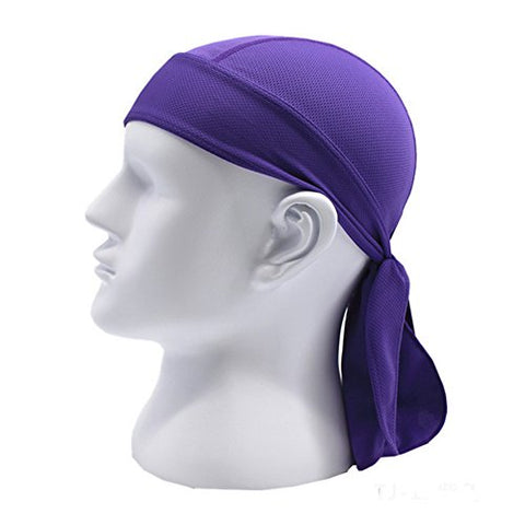 Moore Quickly Dry Moisture Wicking Breathable Sports Sweatband Headwear Hat Bike Motorcycle Head Wrap Scarf Skull Cap Helmet