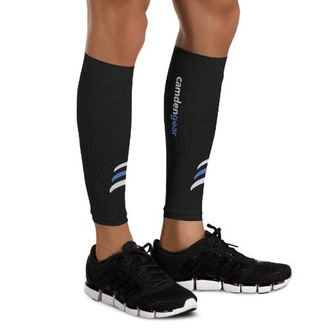 Camden Gear Calf Compression Sleeve by Helps Shin Splints. Leg Socks for Men and