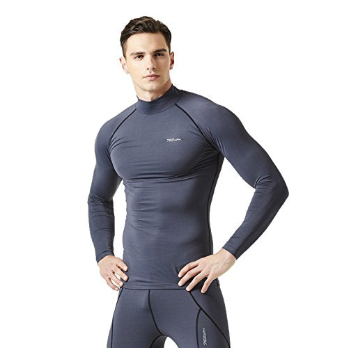 762MPH Men's Wintergear Thermal Compression Baselayer Long Sleeve Mock Neck