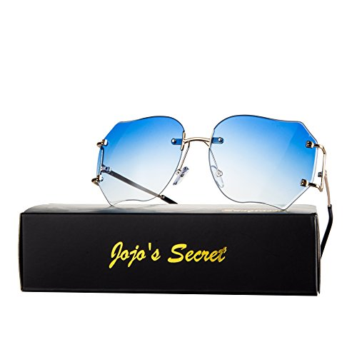 2649be7bbfb Oversized Rimless Sunglasses for Women