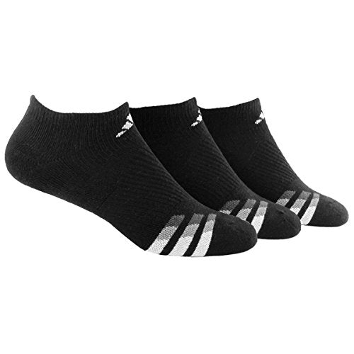 adidas Men's Cushioned No Show Socks