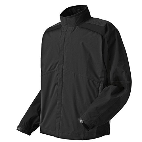 FootJoy HydroLite Rain Jacket Black/White