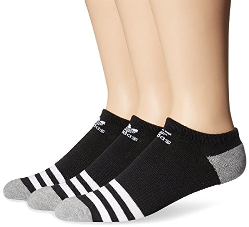 adidas Men's Originals No Show Socks (3