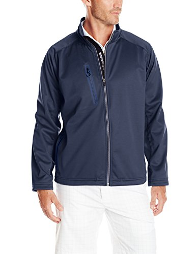 Zero Restriction Men's Highland 3 Layer Water Repellent Soft Shell Wind