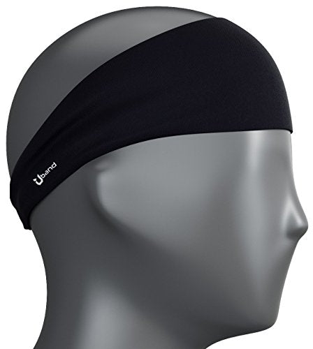 Self Pro Mens Headband - Best Guys Sweatband & Sports Headband for Running, Crossfit, Working Out and Dominating Your Competition - Performance Stretch & Moisture Wicking (Night
