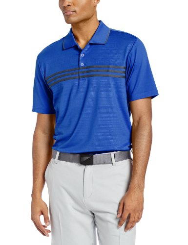 adidas Golf Men's Puremotion Climacool 3-Stripes Chest