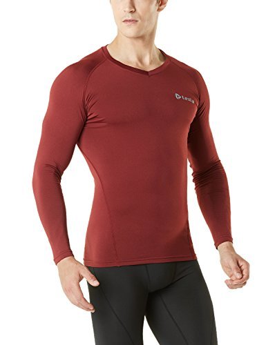 Tesla Men's Thermal WinterGear Compression Baselayer Long Sleeve Top