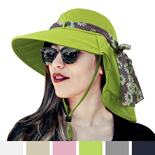 d6171953154b9 SUN CUBE Womens Outdoor Sun Hat
