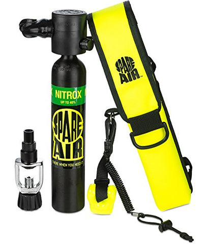 Spare Air Submersible Emergency Air Supply Package Set Scuba Diving