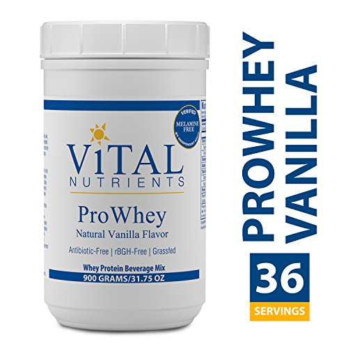 Vital Nutrients - ProWhey - Natural Vanilla Flavor - Whey Protein Beverage