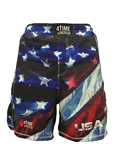4-Time All American USA Wrestling Shorts UFC, MMA, BJJ, Muay Thai, WOD, NOGI, Wrestling, Kickboxing, Boxing Shorts Youth and Mens