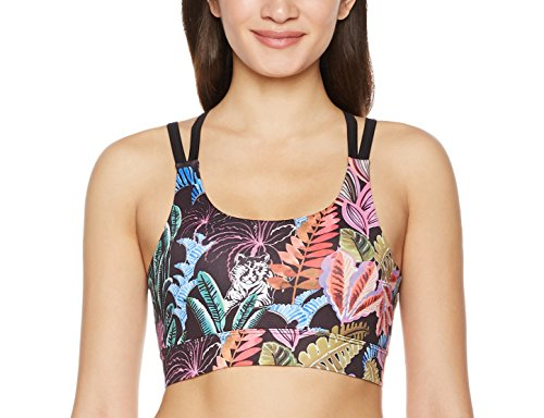 7Goals Women's Printed Tropical Strappy Sports