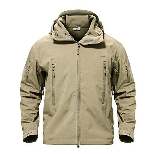 TACVASEN Men's Special Ops Military Tactical Soft Shell Jacket