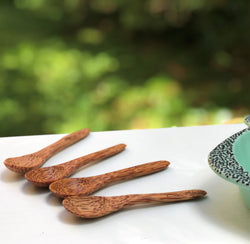 Quattro Baby Coco Spoon - TreO Bamboo - Eco-friendly, Natural and Handcrafted Product