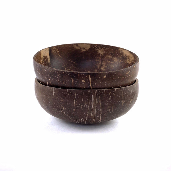 Duo TreO Coconut Bowls - TreO Bamboo - Eco-friendly, Natural and Handcrafted Product