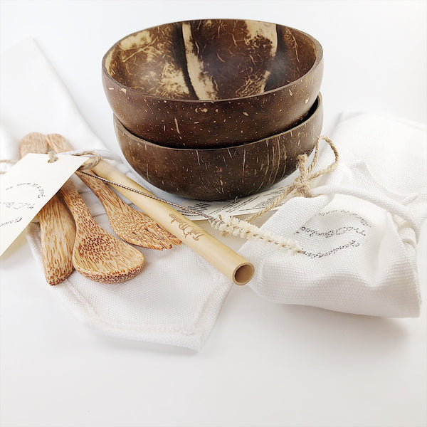 Zero Waste Duo Combo - TreO Bamboo - Eco-friendly, Natural and Handcrafted Product