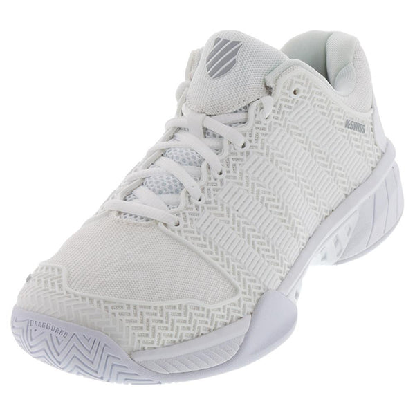 K- Swiss Men's Hypercourt Express Tennis Shoes White and Highrise