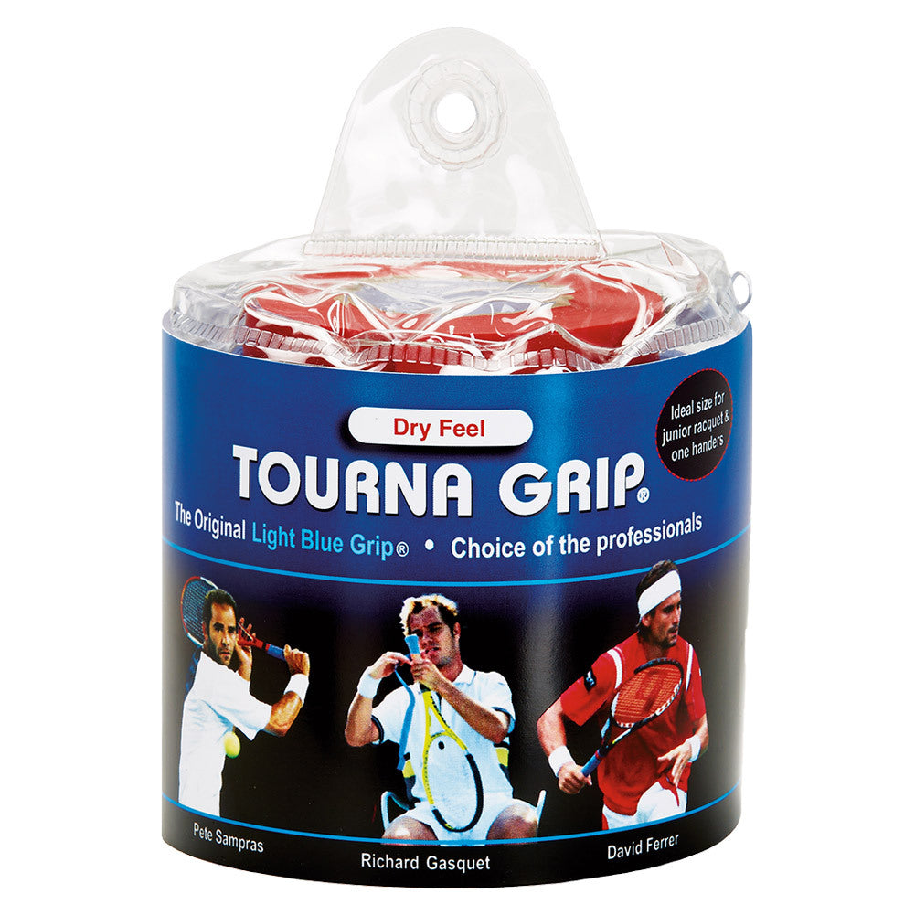 Tourna Grip 30 Grip Pack - XL Blue Vinyl Pouch