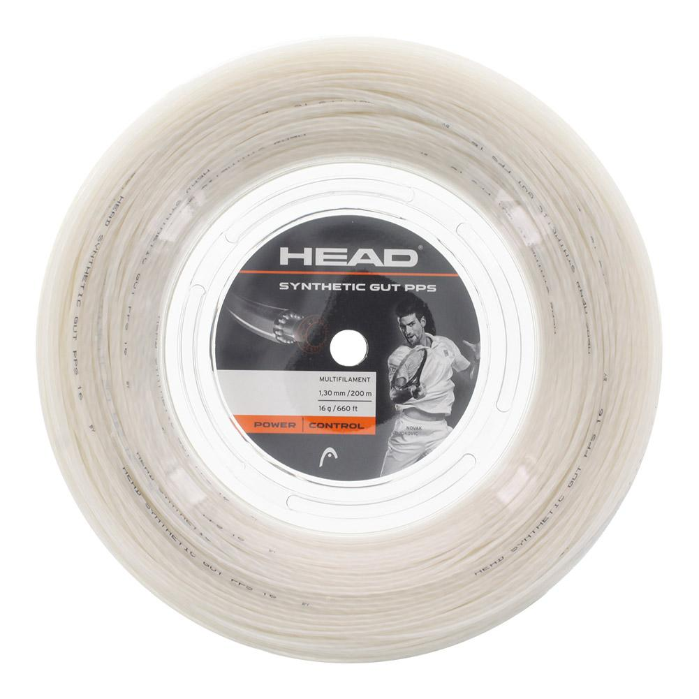 Head Synthetic Gut PPS 16G Tennis String Reel White