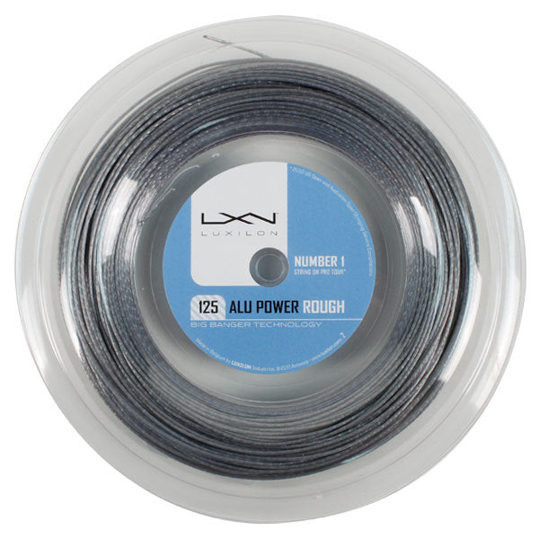 Luxilon ALU Power 125 Rough 16L Silver 330 Reel Tennis String