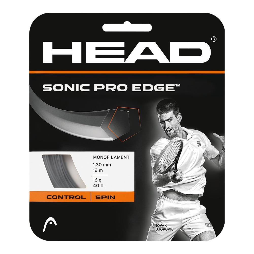Head Sonic Pro Edge 16G Tennis String Anthracite